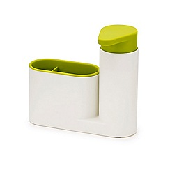 Joseph Joseph - White and green 'SinkBase' 2 piece sink tidy set