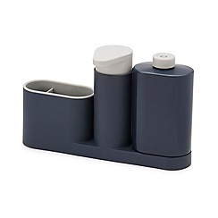 Joseph Joseph - Grey 'SinkBase Plus' 3 piece sink tidy set