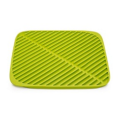 Joseph Joseph - Flume small folding draining mat in green