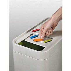 Joseph Joseph - Stack 52L Recycling separation system in Stone