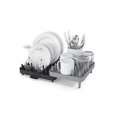 Joseph Joseph - Connect Adjustable 3-Piece Dish Rack in grey