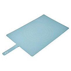 Joseph Joseph - Roll-up non-slip silicone pastry mat in blue