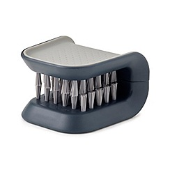 Joseph Joseph - Grey 'BladeBrush' knife and cutlery cleaning brush