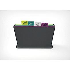 Joseph Joseph - Grey 'Index Advance' chopping board set