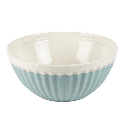 At home with Ashley Thomas - Ceramic pink ditsy floral mixing bowl