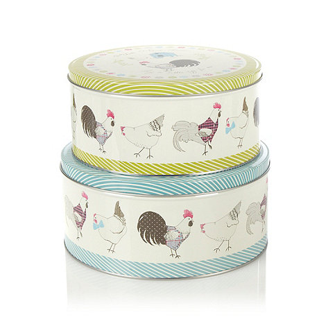 At home with Ashley Thomas - Set of two round cake tins
