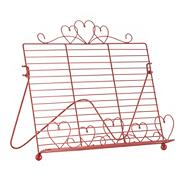 Red wire recipe stand