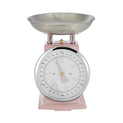At home with Ashley Thomas - Pale pink 3kg mechanical scales