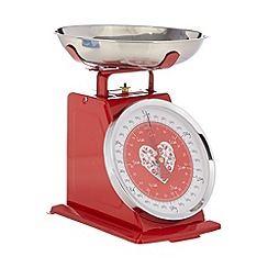 At home with Ashley Thomas - Red heart 3kg mechanical scales