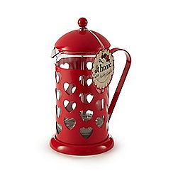 At home with Ashley Thomas - Red heart 8-cup cafetiere