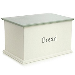 At home with Ashley Thomas - Cream bread bin
