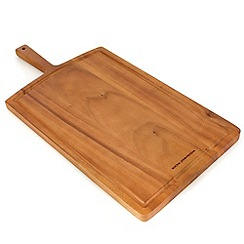 RJR.John Rocha - Natural acacia wood chopping board