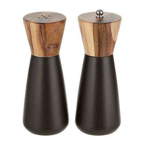 RJR.John Rocha - Wooden salt and pepper mill set