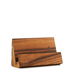 RJR.John Rocha - Designer wooden recipe book holder