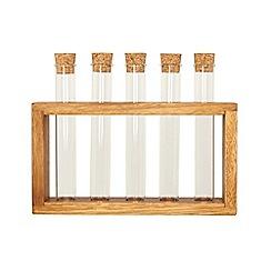 RJR.John Rocha - Designer acacia wood spice rack