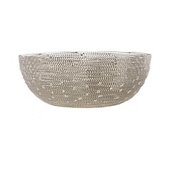RJR.John Rocha - Designer large metallic wire bowl