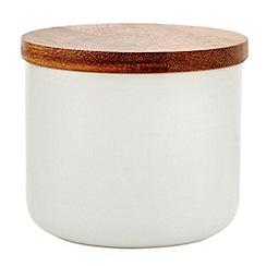 RJR.John Rocha - Designer ceramic small storage jar