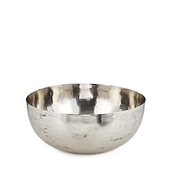 RJR.John Rocha - Designer silver metal bowl