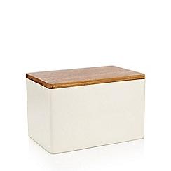 RJR.John Rocha - Acacia wood bread bin