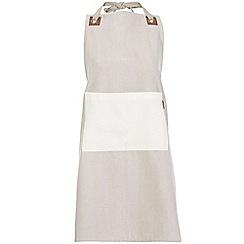 RJR.John Rocha - Designer natural pocket apron