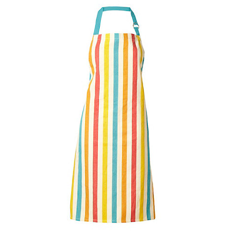 Ben de Lisi Home - Turquoise candy striped double oven glove