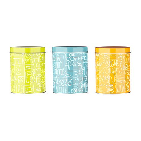 Ben de Lisi Home - Designer set of three storage jars