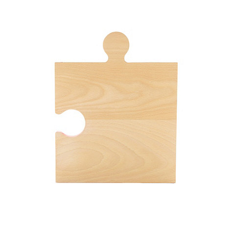 Ben de Lisi Home - Designer wooden jigsaw chopping board