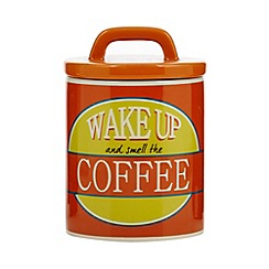 Ben de Lisi Home - Designer ceramic retro 'Coffee' storage jar