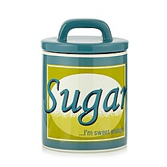 Ben de Lisi Home - Designer ceramic retro 'Sugar' storage jar