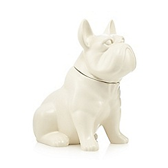 Ben de Lisi Home - Porcelain french bulldog cookie jar