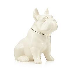 Ben de Lisi Home - Porcelain french bulldog cookie jar