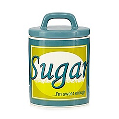 Ben de Lisi Home - Blue sugar storage jar
