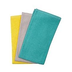 Ben de Lisi Home - Set of three multicoloured hand towels
