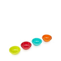 Ben de Lisi Home - Set of four assorted dip bowls