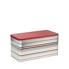 Ben de Lisi Home - Red striped bread tin