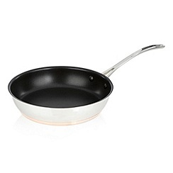 J by Jasper Conran - Stainless steel 24cm copper bottom skillet