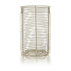 J by Jasper Conran - Cream wire utensil holder