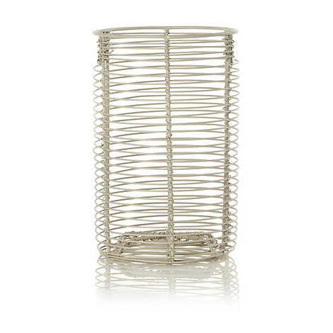 J by Jasper Conran - Cream wire utensil holder