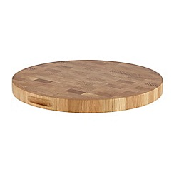 J by Jasper Conran - Designer oak round chopping board