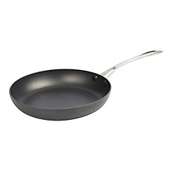 J by Jasper Conran - Designer hard anodised aluminium 30cm non stick frying pan