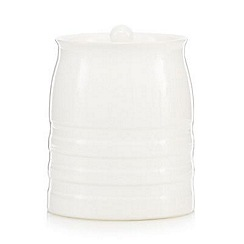 J by Jasper Conran - Designer medium ceramic ribbed storage jar
