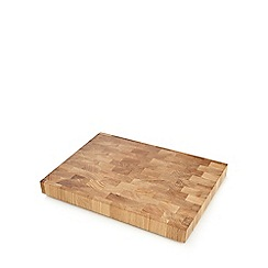 J by Jasper Conran - Oak end grain chopping board