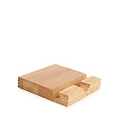 J by Jasper Conran - Oak iPad stand