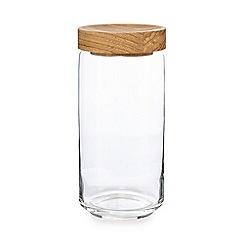 J by Jasper Conran - Glass large storage jar