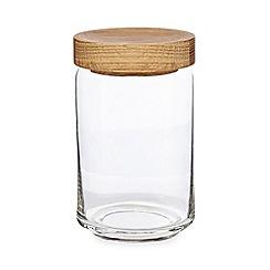J by Jasper Conran - Glass large storage jar