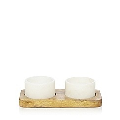 J by Jasper Conran - Set of two salt and pepper pinch pots