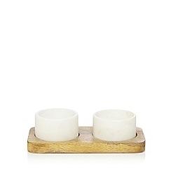 J by Jasper Conran - Set of two salt and pepper pinch pots