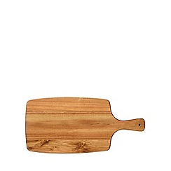 Debenhams - Wooden 'Bistro' paddle chopping board