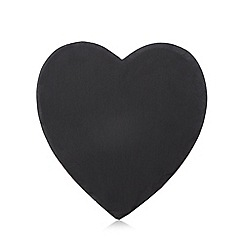 Debenhams - Slate heart shaped serving board