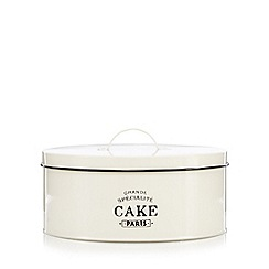 Debenhams - Ceramic bistro cake tin